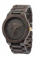 WeWood Kappa Black Gold Watch