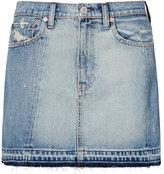 Denim & Supply Ralph Lauren Frayed Denim Skirt