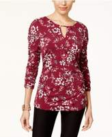 Thalia Sodi Ruched Top, Created for Macy's