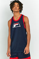 Fila Baseline Basketball Navy Tank Top
