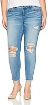 Thumbnail for your product : SLINK Jeans Women's Plus Size Eden Ankle Jean