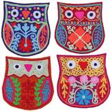 Karma Living Owl Coaster - Set of 4