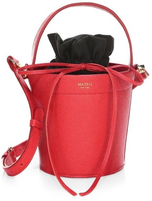 Mateo New York The Madeline Leather Bucket Bag