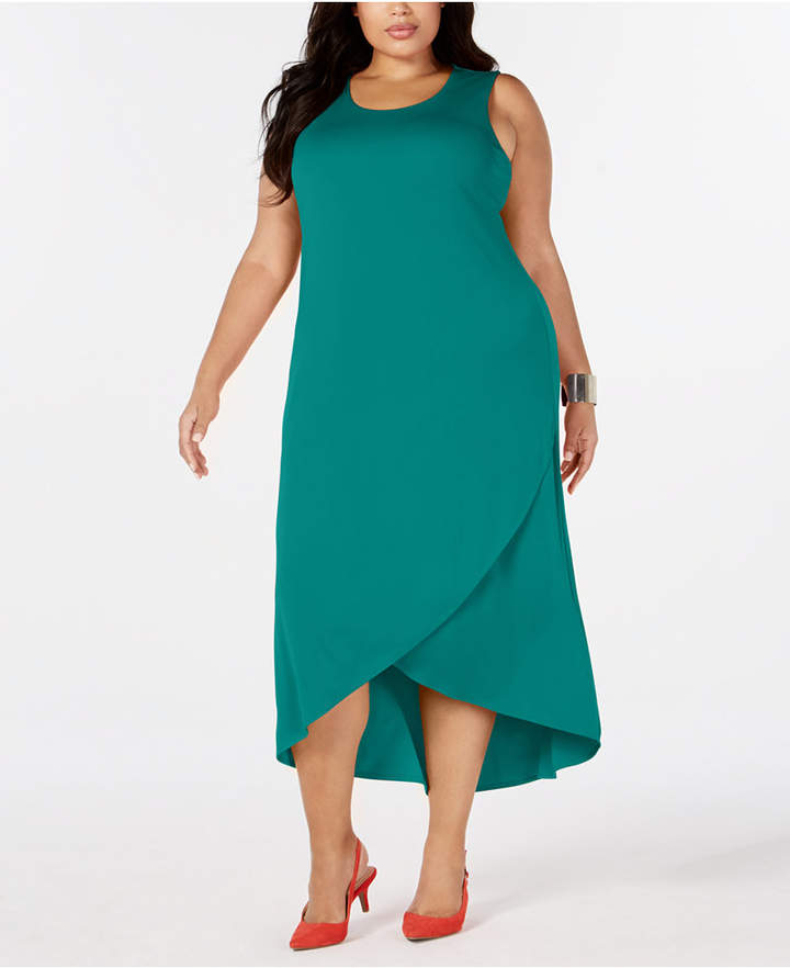 Plus Size Tulip-Hem Dress