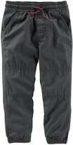 Osh Kosh Woven Pants (Toddler/Kid) - Navy - 3T