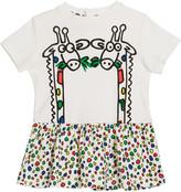 Stella McCartney Baby Girl's Giraffe Print Short-Sleeve Tee, Size 12-36 Months