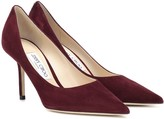 Jimmy Choo Love 85 suede pumps