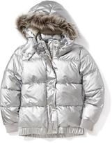 Old Navy Metallic Frost Free Jacket for Girls