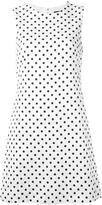 Dolce & Gabbana brocade polka dot dress - women - Silk/Cotton/Spandex/Elastane/Viscose - 42