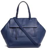 Tory Burch 'Half-Moon' leather satchel