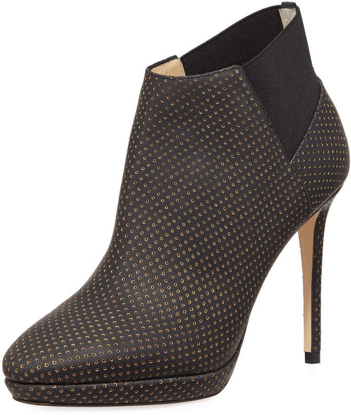 1a035248a798 Black Platform Stiletto Boots - ShopStyle