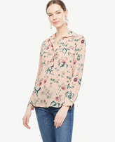 Ann Taylor Oasis Camp Shirt