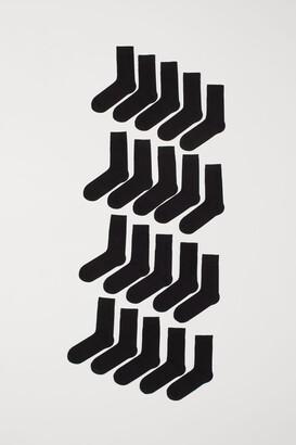 H&M 20-pack Socks - Black