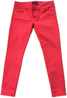 The Kooples Red Cotton - elasthane Jeans for Women