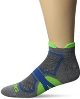 Saucony Men's Elite 2 Pack Dash Superlite Low Cut Double Tab Socks