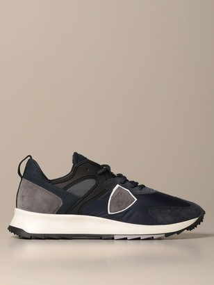 Philippe Model Royale Sneakers In Nylon And Suede