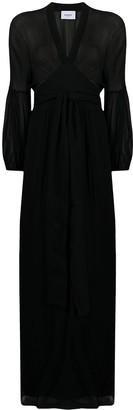 Dondup Puff-Sleeve Maxi Dress