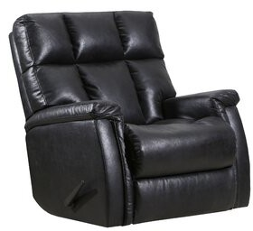 Lane Furniture Alsache Recliner Lane Furniture Upholstery: Faux Leather Eclipse, Reclining Type: Manual, Motion Type: Rocker with Heat & Massage