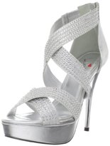 Luichiny Women's Kiss N Tell Platform Sandal
