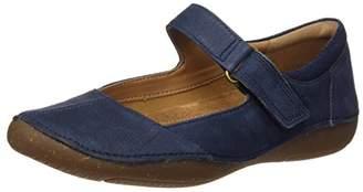 Clarks Autumn Stone, Women's Wedge Heels Sandals, Blue (Navy Nubuck), (36 EU)