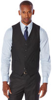Perry Ellis Slim Fit Heather Texture Suit Vest