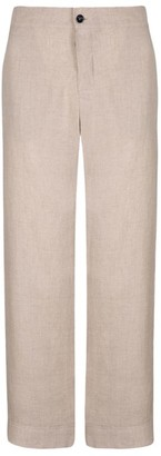ASCENO Linen Pyjama Bottoms