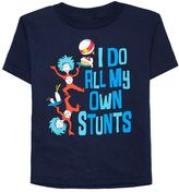 "Toddler Boy Dr. Seuss ""I Do All My Own Stunts"" Thing One & Thing Two Graphic Tee"