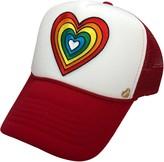 Mother Trucker & Co. Rainbow Heart Trucker Hat