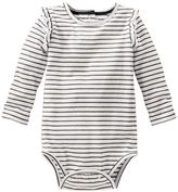 Osh Kosh Baby Girl Striped Ruffled Bodysuit