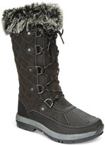 BearPaw Women's Gwyneth Quilted Lace-Up Cold-Weather Waterproof Boots