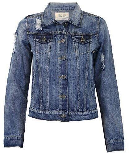 Thumbnail for your product : Brave Soul Ladie's Jacket HARRIS Denim UK 8