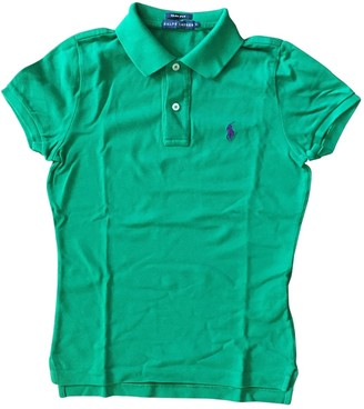 Ralph Lauren Green Cotton Top for Women
