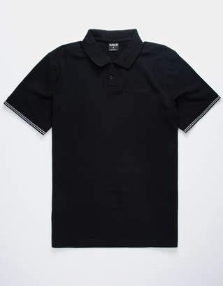 Hurley Stripe Black Polo Shirt