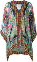 Etro v-neck tunic - women - Silk/Viscose - 40