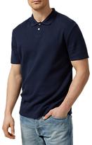 Selected Louis Polo Shirt, Dark Sapphire