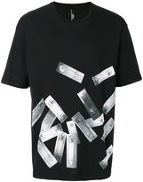 Versus safety pin print T-shirt