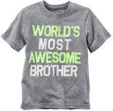 Carter's World's Most Awesome Brother Graphic Tee