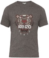 Kenzo Tiger-print Cotton T-shirt