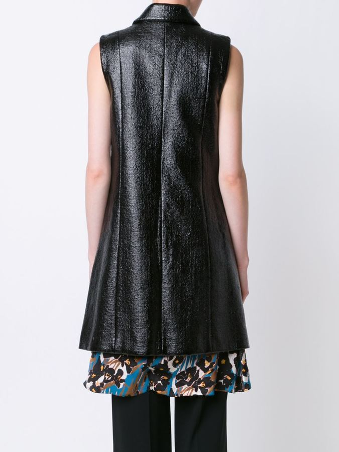 Creatures of the Wind long zipped waistcoat