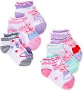 Peppa Pig Ankle Socks, 6-Pack, Toddler Girls (4.5-10.5)