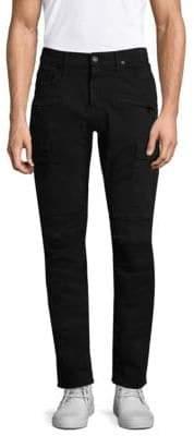 Hudson Jeans Jeans Men's Slim-Fit Cargo Pants - Black - Size 31