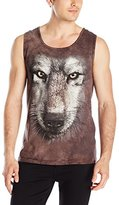 The Mountain Wolf Face Tank Top