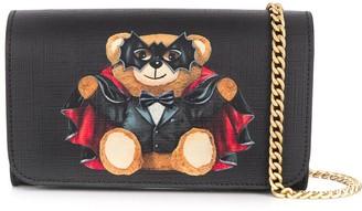 Moschino Vampire Teddy Mini Clutch Bag