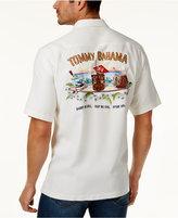 Tommy Bahama Men's Big & Tall Shake No Evil Silk Camp Shirt