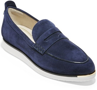 Cole Haan Grand Ambition Troy Suede Slip-On