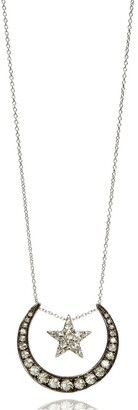 Annoushka 18kt White Gold Diamond Lunar Necklace