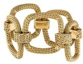 Cartier 18K Tiered Square Link Bracelet