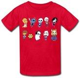LDMH Youth's Unisex Undertale Funny Npc T Shirt