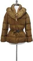 Moncler Bronze Down Filled Winter Coat