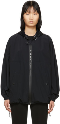 Givenchy Black Logo Windbreaker Jacket